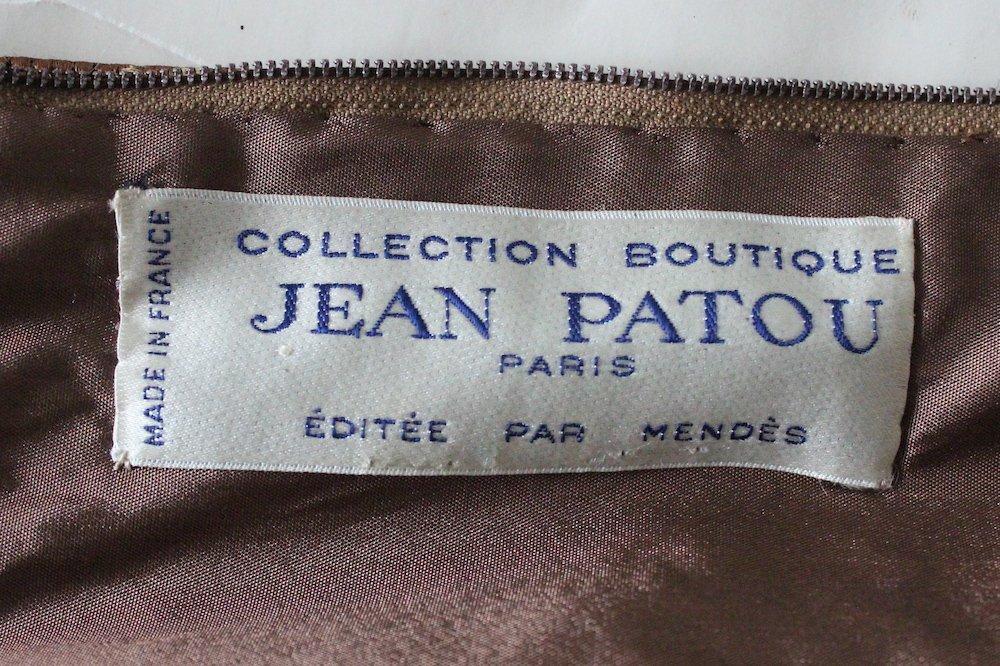 Jean Patou Boutique Demi Couture Dress. early 1960's - 4