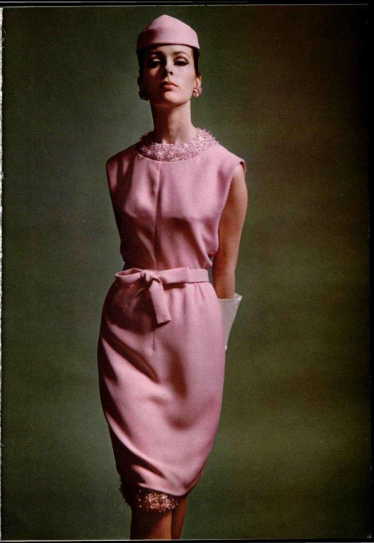 Christian Dior Beige Silk Beaded Dress, S/S 1965 - 5