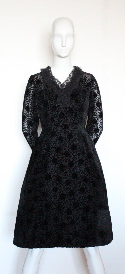 Salon Moderne Saks Fifth Avenue Couture Dress, F/W 1965