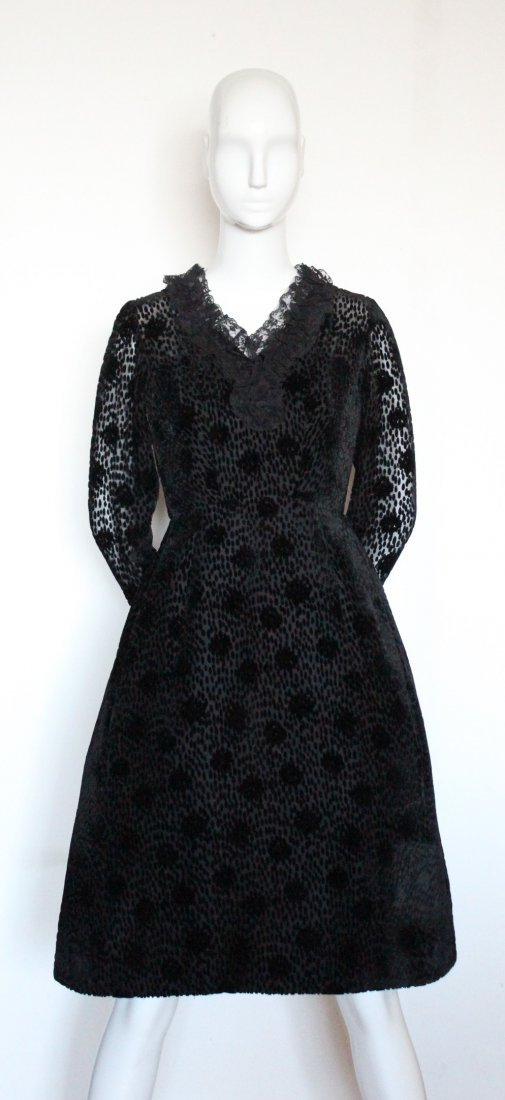 Salon Moderne Saks Fifth Avenue Couture Dress, F/W 1965