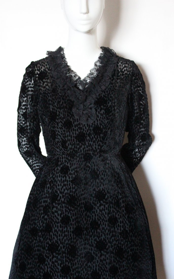 Salon Moderne Saks Fifth Avenue Couture Dress, F/W 1965 - 2