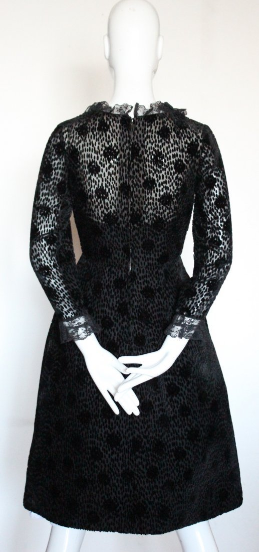 Salon Moderne Saks Fifth Avenue Couture Dress, F/W 1965 - 3