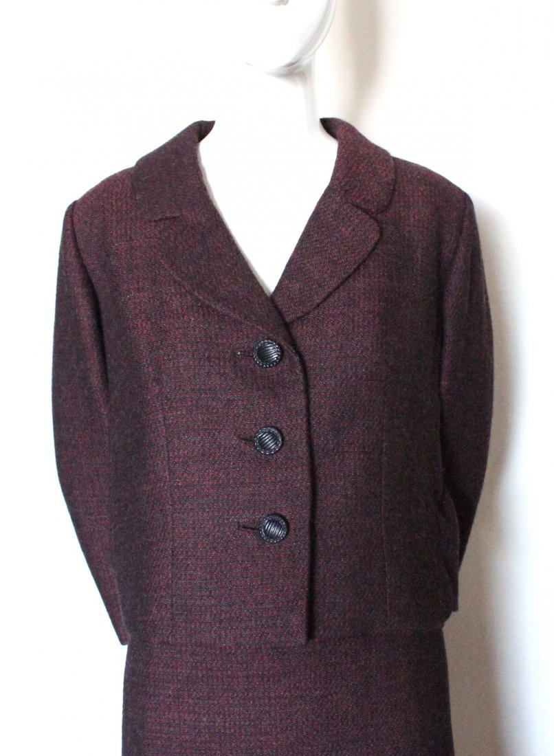 Bergdorf Goodman Couture Tweed Suit, F/W 1966