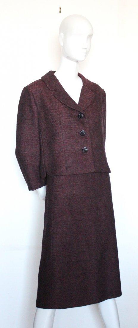 Bergdorf Goodman Couture Tweed Suit, F/W 1966 - 2