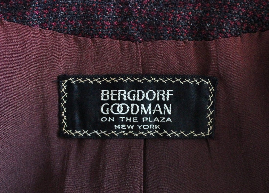 Bergdorf Goodman Couture Tweed Suit, F/W 1966 - 3