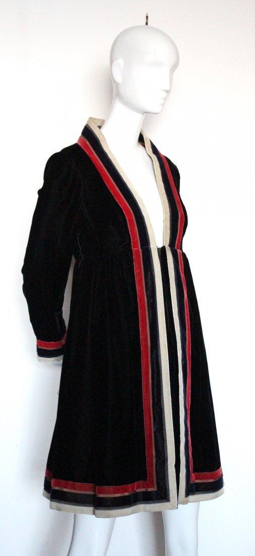 Geoffrey Beene Black Velvet Dress, ca. 1960's - 2