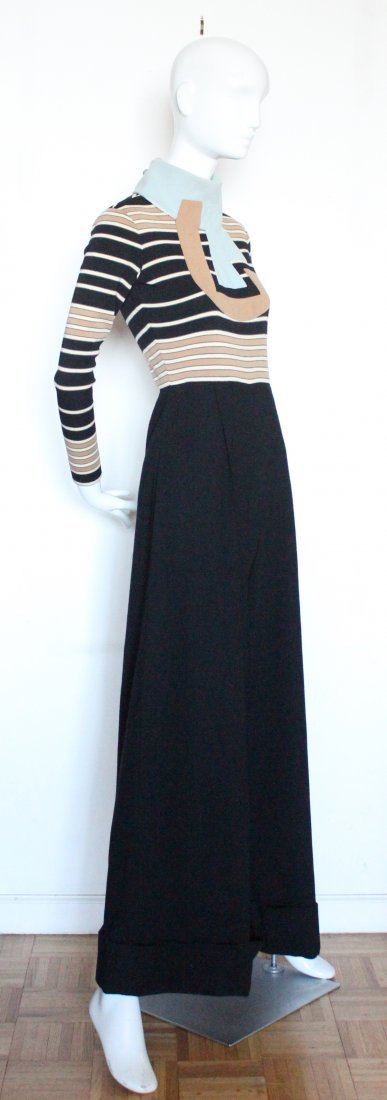 Ronald Amey Wool Knit Jumpsuit. ca. early 1970's - 3