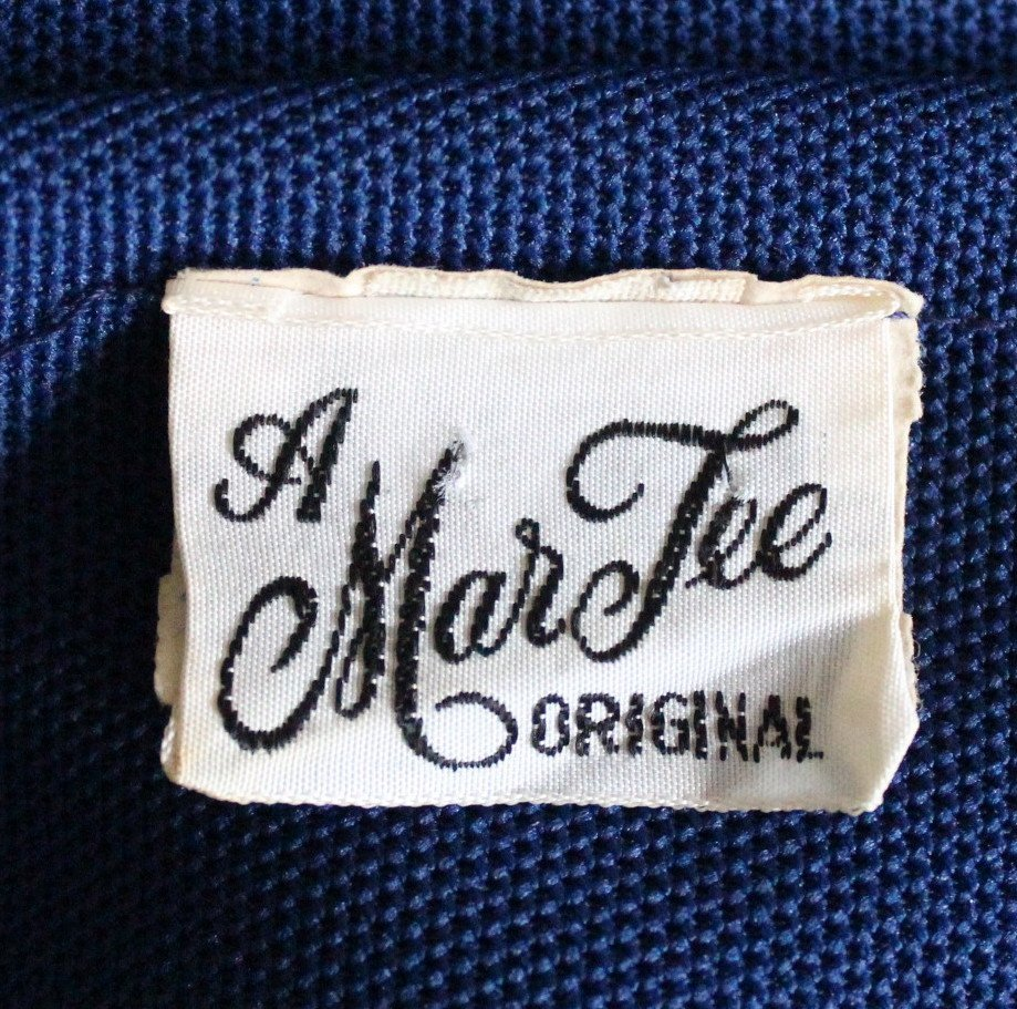 A Mar Tee Original Polyester Knit Suit, ca. 1970's - 6