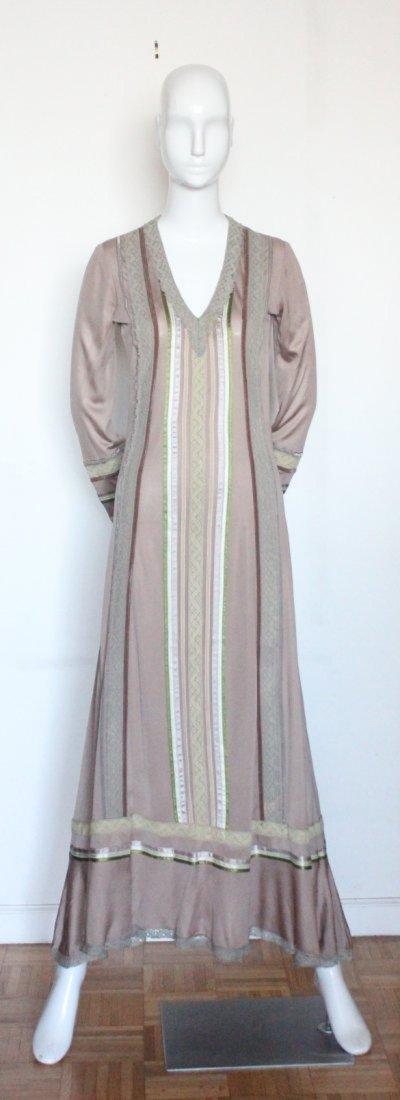 Giorgio di Sant'Angelo Jersey Knit Maxi Dress, c. 1970s