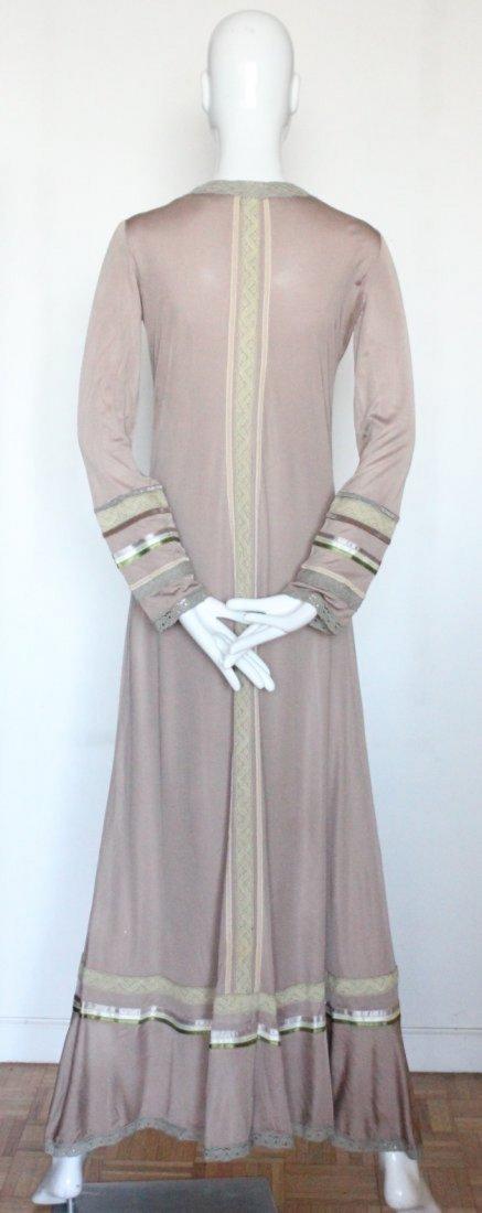 Giorgio di Sant'Angelo Jersey Knit Maxi Dress, c. 1970s - 3