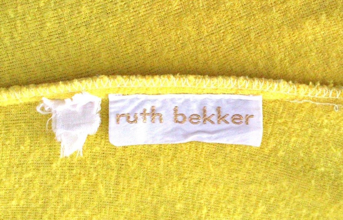 Henri Bendel Yellow Terry Cloth Beach Dress, ca.1970s - 5