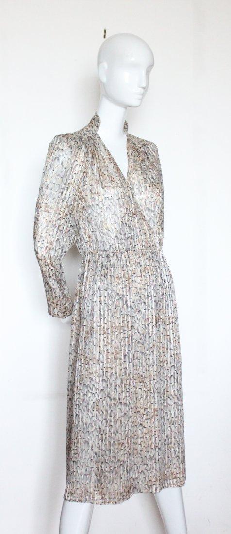 Chloe by Lagerfeld Silk Chiffon Dress, ca. 1970's
