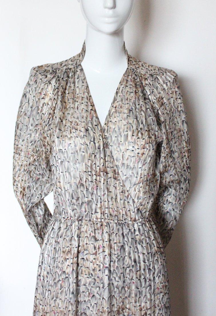 Chloe by Lagerfeld Silk Chiffon Dress, ca. 1970's - 2