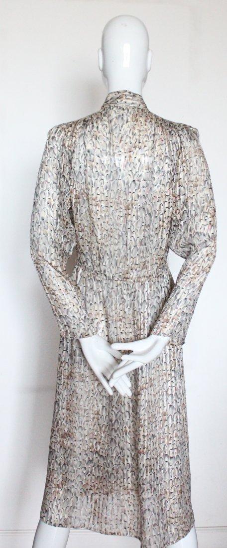 Chloe by Lagerfeld Silk Chiffon Dress, ca. 1970's - 3