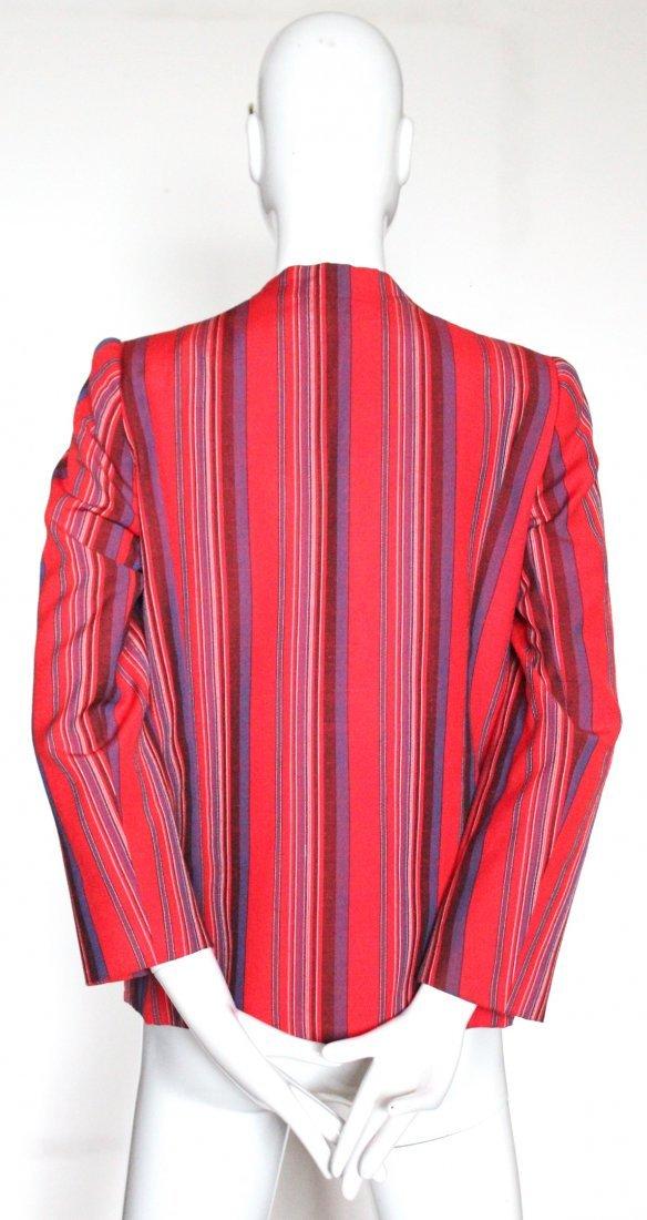 Lanvin Haute Couture Striped Jacket, ca. 1970's - 2