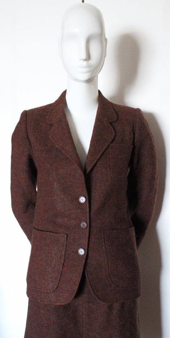 Yves Saint Laurent Rive Gauche Tweed Suit, ca.1970s - 2
