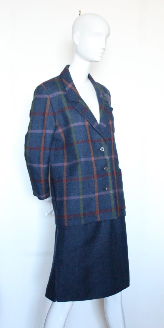 Chloe by Lagerfeld Wool Tweed Suit, early 1980's