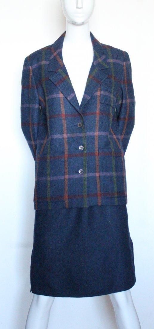 Chloe by Lagerfeld Wool Tweed Suit, early 1980's - 2