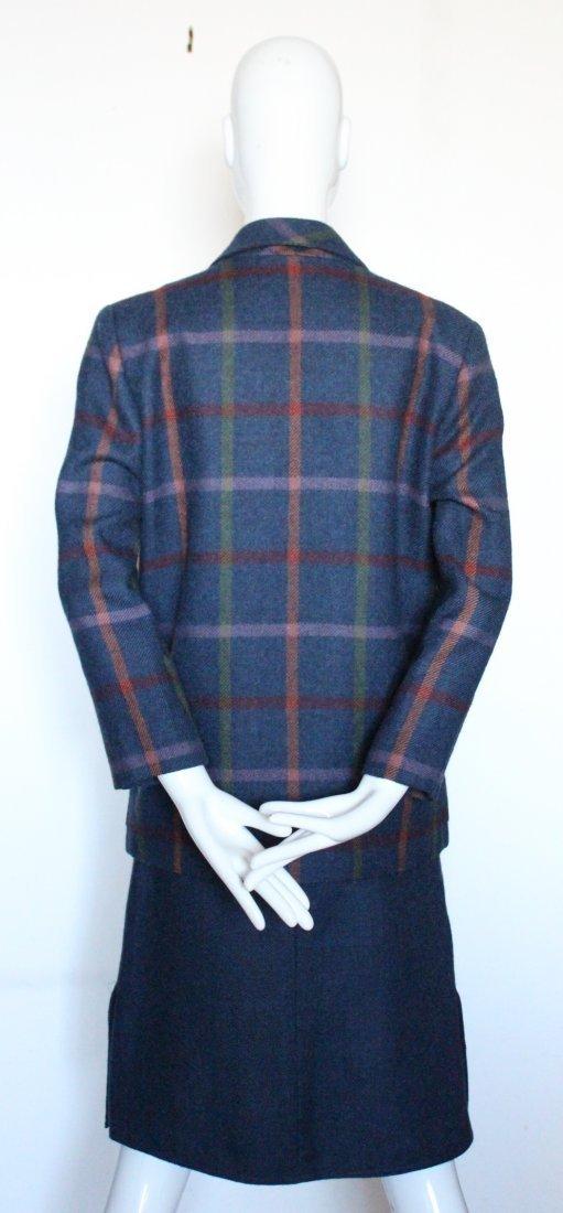 Chloe by Lagerfeld Wool Tweed Suit, early 1980's - 3