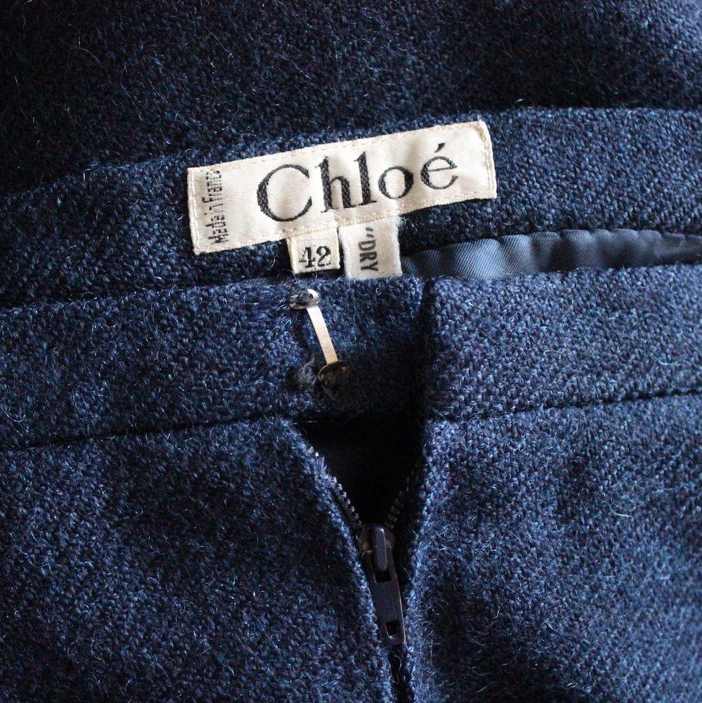 Chloe by Lagerfeld Wool Tweed Suit, early 1980's - 4