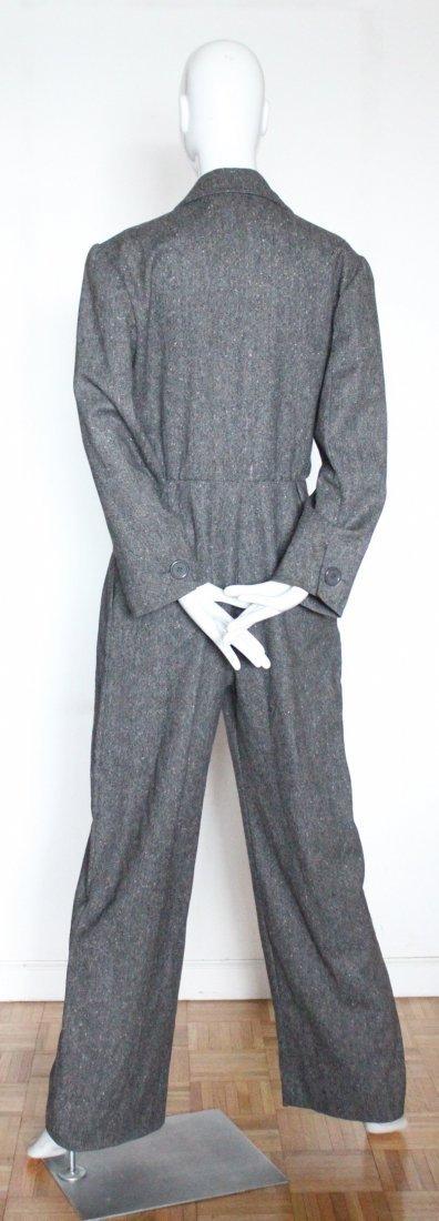 Yves Saint Laurent Wool Tweed Jumpsuit, F/W 1985 - 3