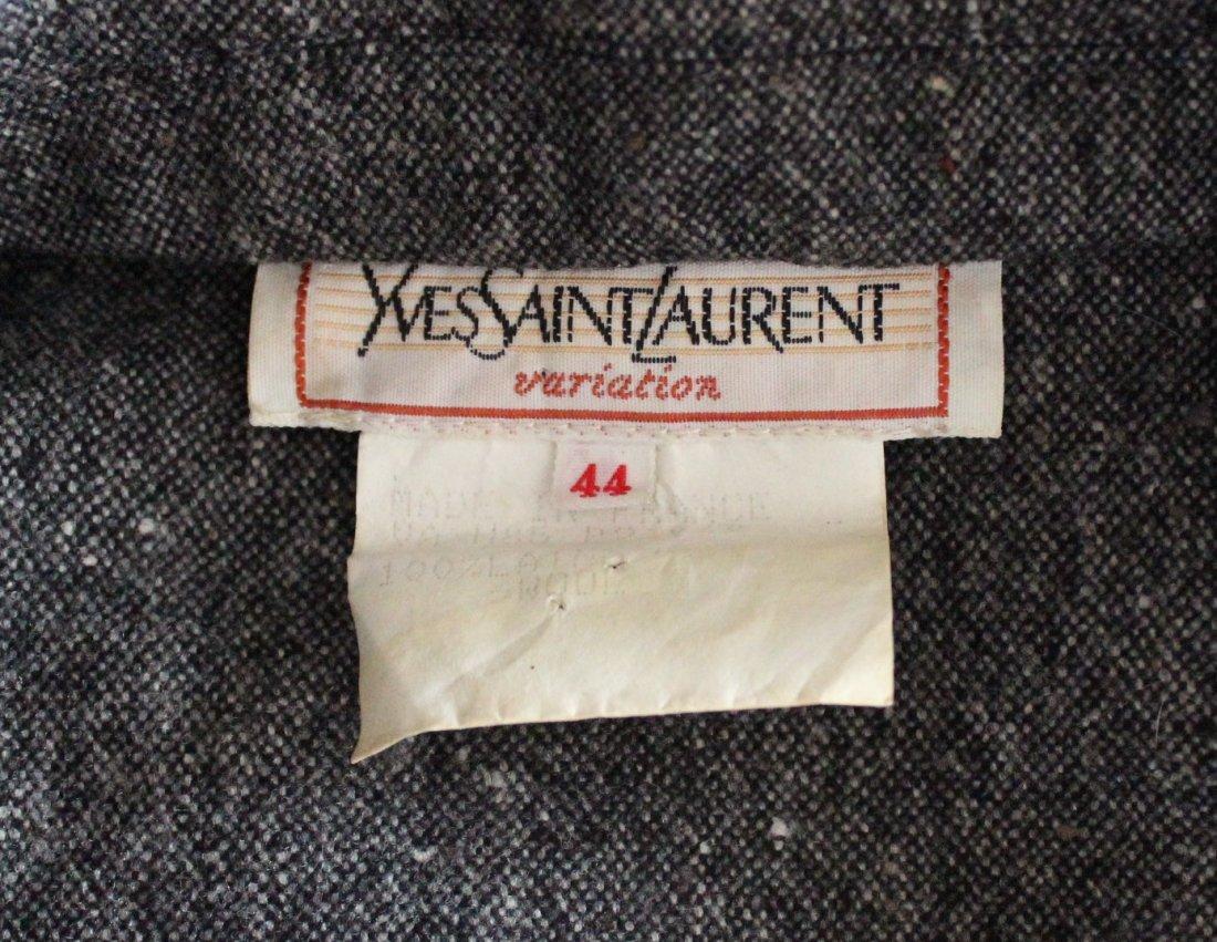Yves Saint Laurent Wool Tweed Jumpsuit, F/W 1985 - 4