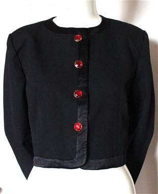 Givenchy Nouvelle Boutique Evening Jacket c1980s