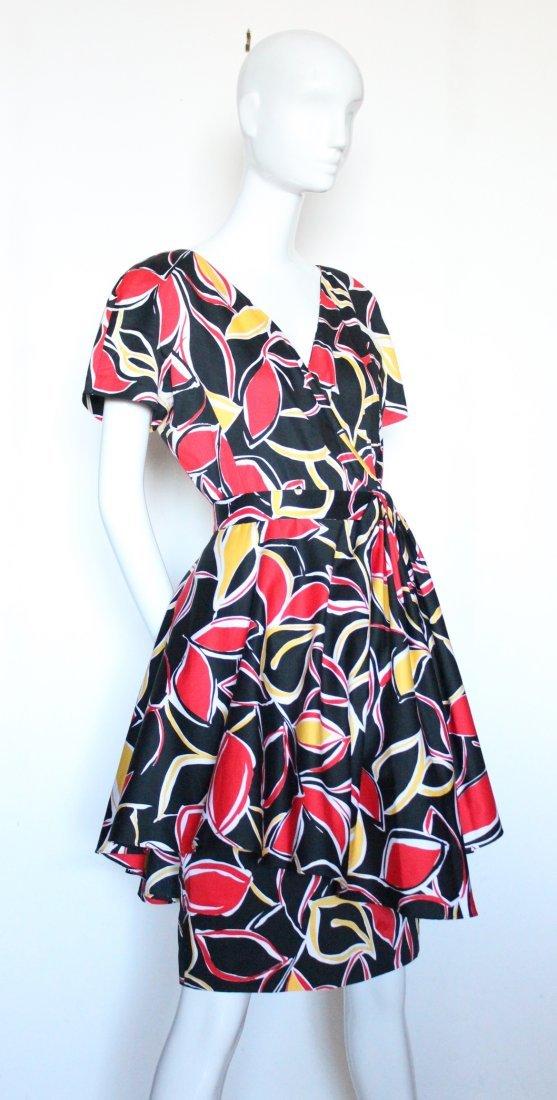 Guy Laroche Boutique Paris Cotton Dress, ca.1980's - 3
