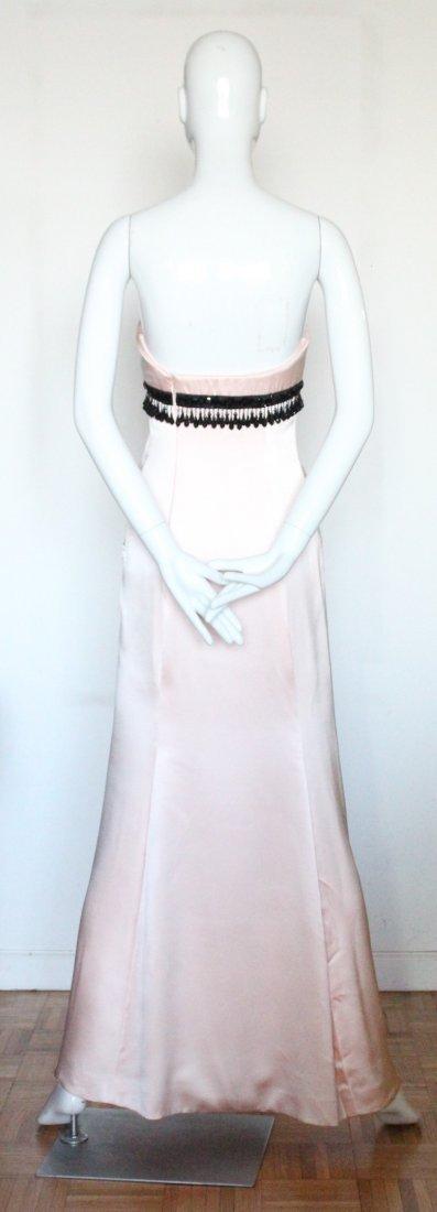 Oscar de La Renta Pink Silk Evening Dress, ca. 1990's - 3