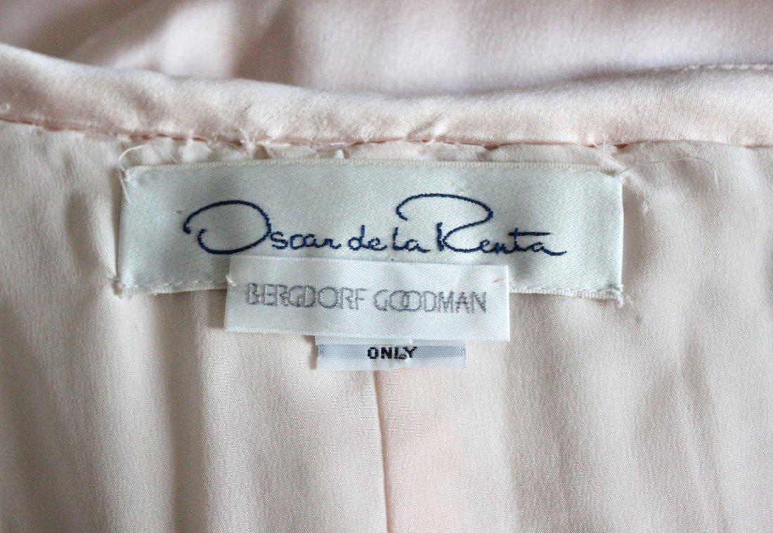 Oscar de La Renta Pink Silk Evening Dress, ca. 1990's - 4