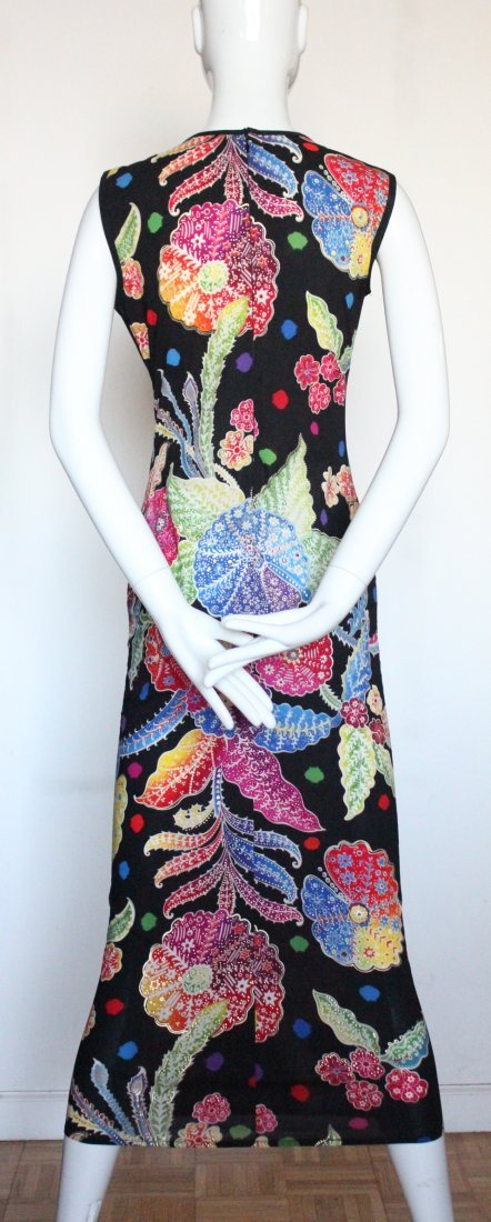 Gianni Versace Couture Floral Print Dress, S/S 1993 - 3