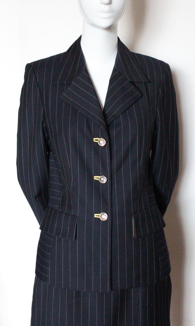 Escada by Margaretha Ley Pin Stripe Suit, ca.1990's - 2
