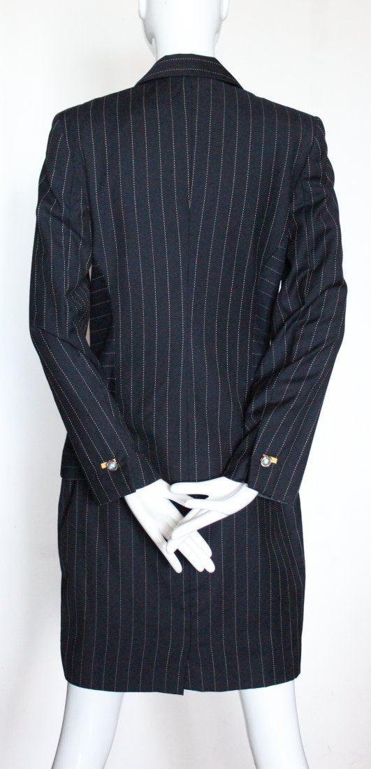 Escada by Margaretha Ley Pin Stripe Suit, ca.1990's - 3