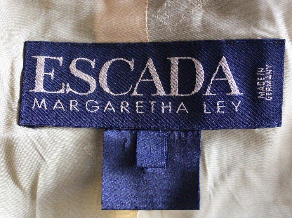 Escada by Margaretha Ley Pin Stripe Suit, ca.1990's - 4