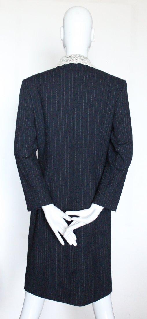 Christian Dior by John Galliano Lace & Wool Coat 1998 - 4