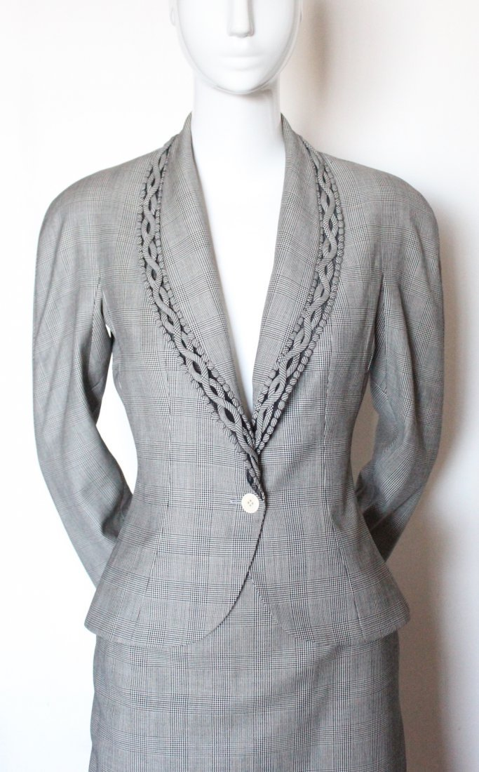 Christian Dior by John Galliano Plaid Suit, S/S 2000 - 2