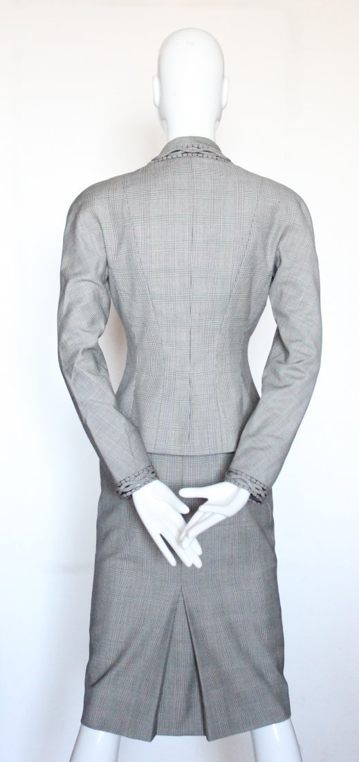 Christian Dior by John Galliano Plaid Suit, S/S 2000 - 3