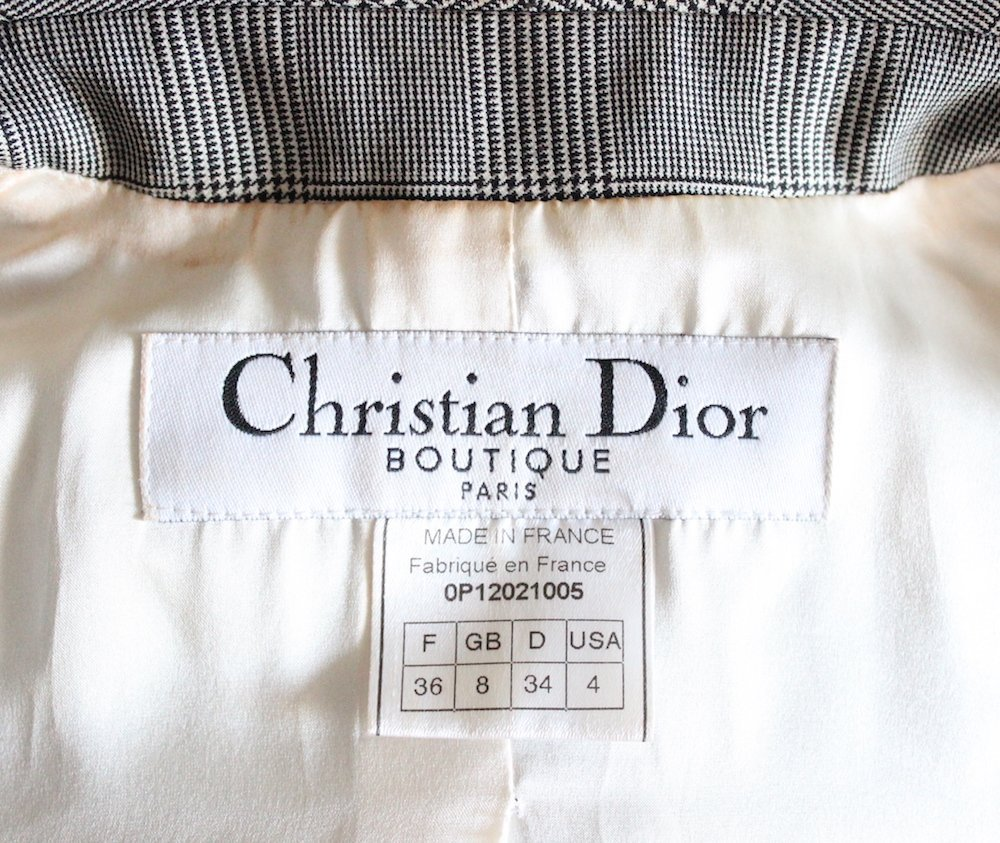 Christian Dior by John Galliano Plaid Suit, S/S 2000 - 4