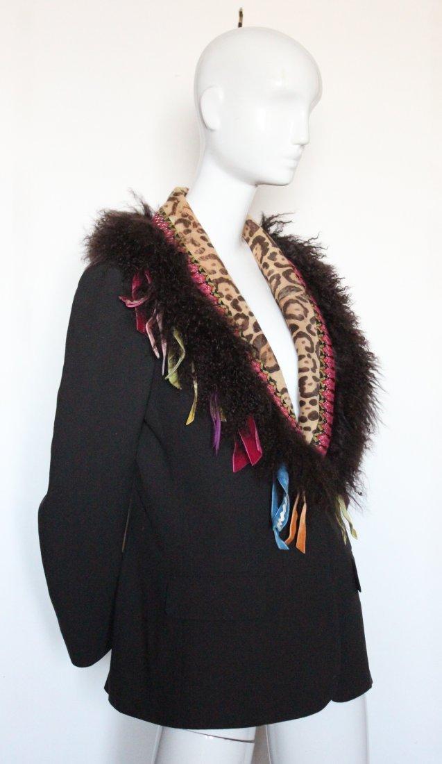 John Galliano Brown Crepe Jacket, F/W 2002 - 2