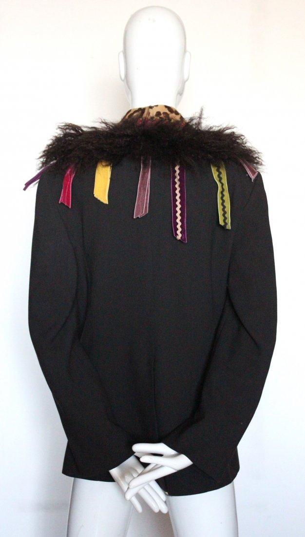 John Galliano Brown Crepe Jacket, F/W 2002 - 3