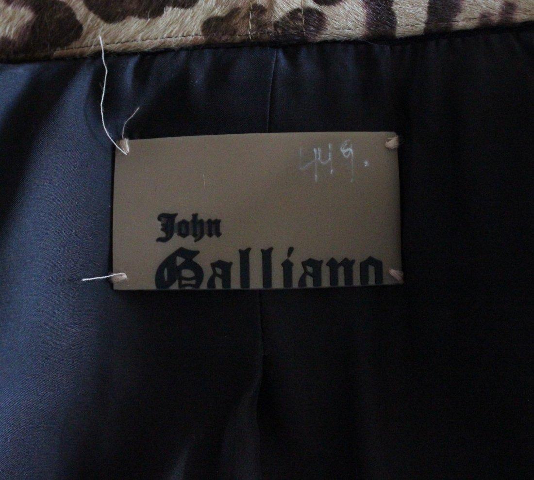 John Galliano Brown Crepe Jacket, F/W 2002 - 4
