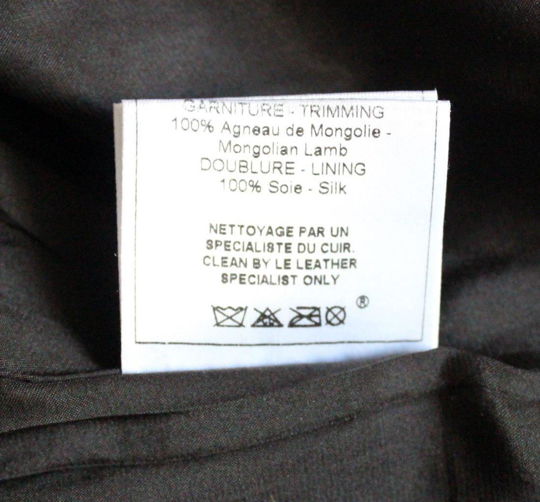 John Galliano Brown Crepe Jacket, F/W 2002 - 6