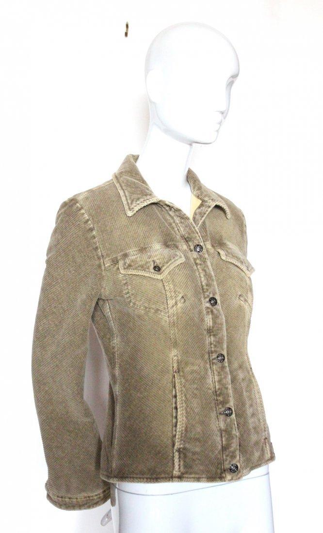 Krizia Jeans Corduroy Jacket, ca. 1990's
