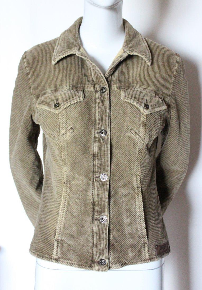 Krizia Jeans Corduroy Jacket, ca. 1990's - 2