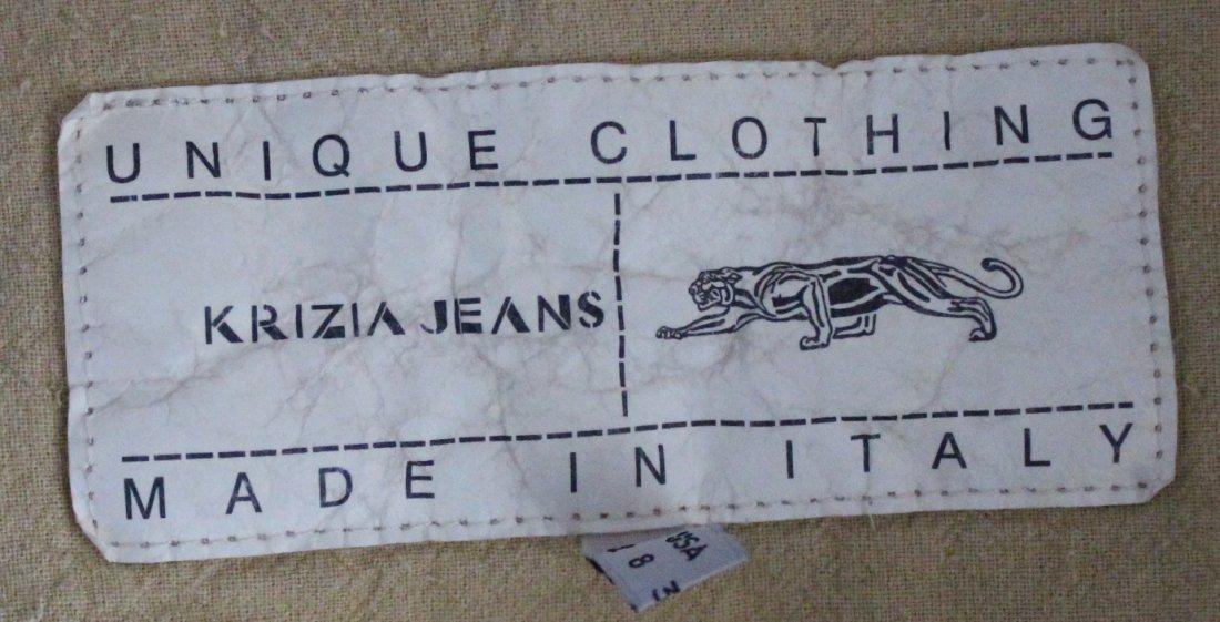 Krizia Jeans Corduroy Jacket, ca. 1990's - 4