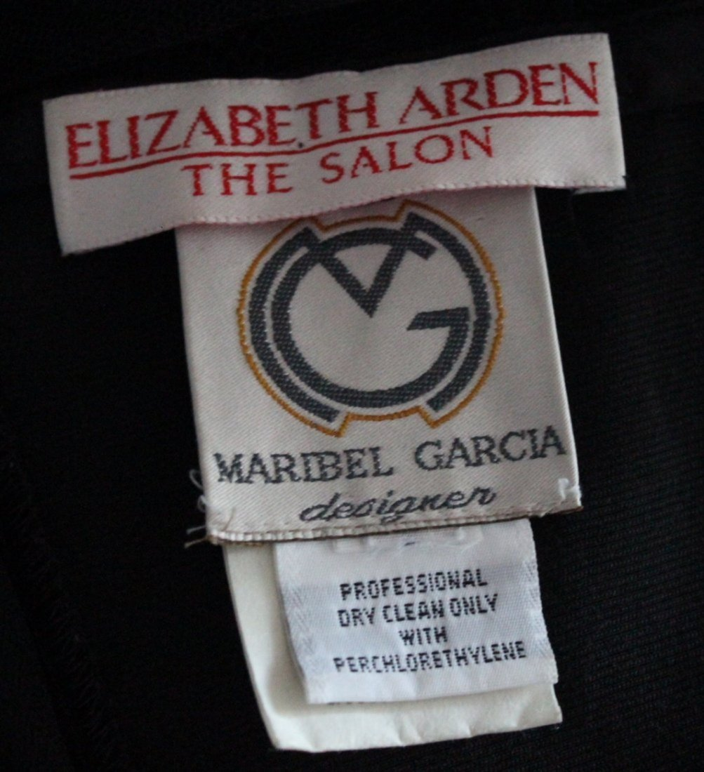 Marbiel Garcia for Elizabeth Arden Lace & Velvet Dress - 3