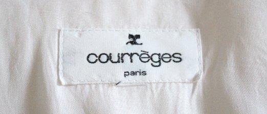 Courreges Paris Beige Wool Coat, ca. 2000's - 5