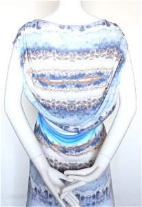Alexander McQueen Agate Print Jersey Dress S/S2010