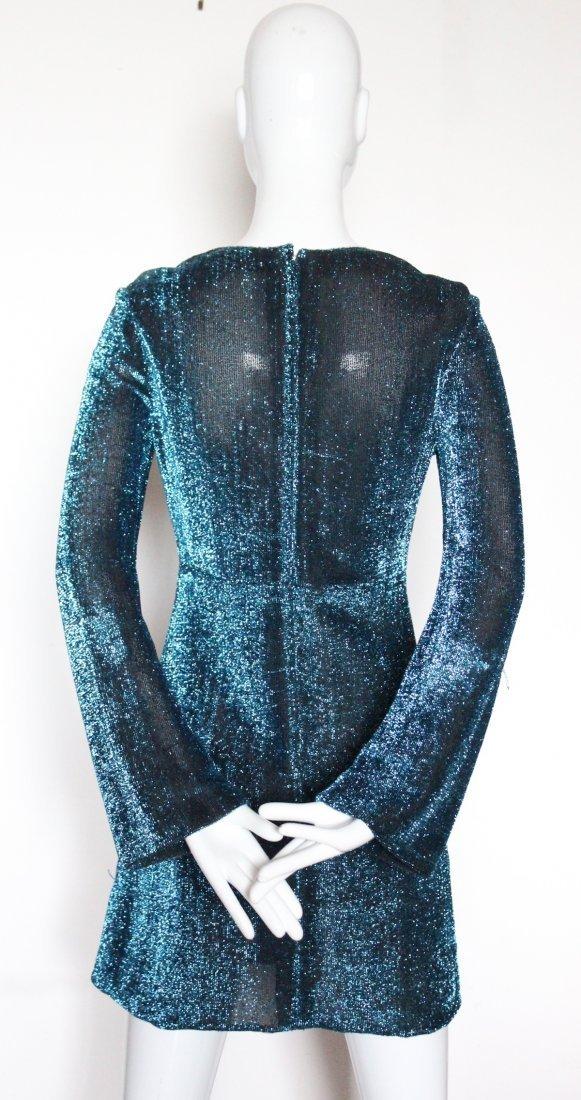 Michael Mott for Paraphernalia Lurex Mini Dress, 1960's - 3
