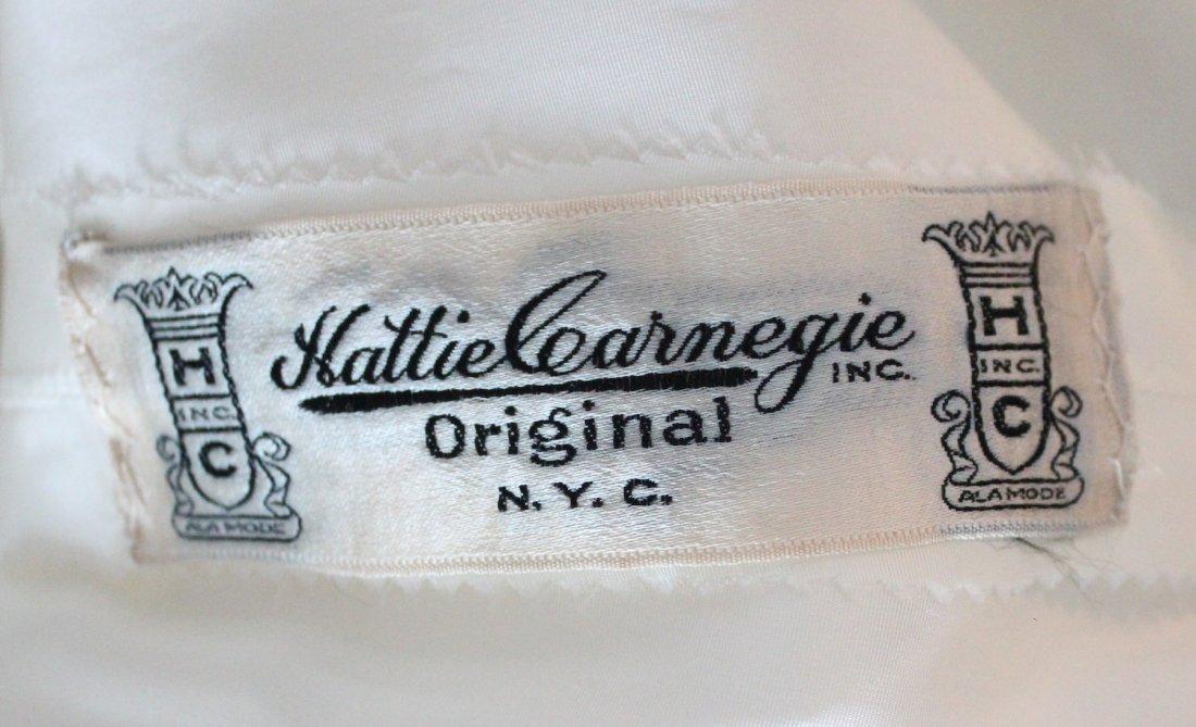 Hattie Carnegie Lace Wedding Dress, ca. early 1940's - 5